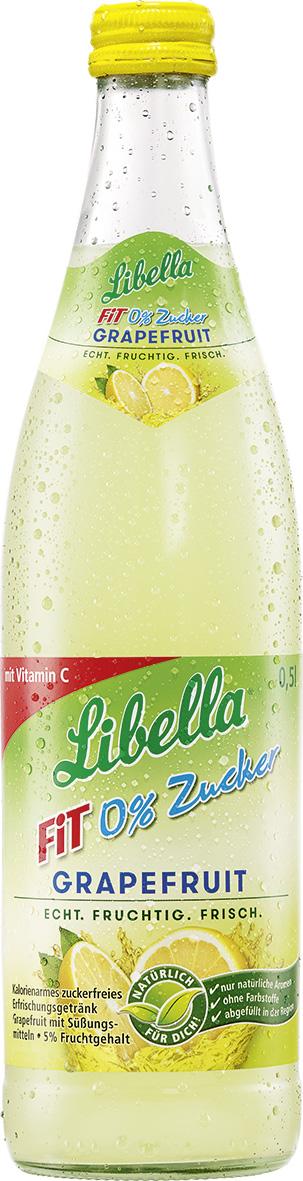 Libella Fit Grapefruit 0% Zucker   Getränke Jocher